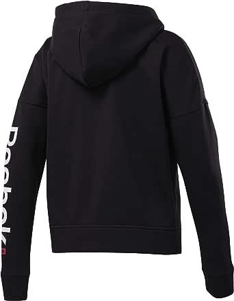 Reebok LINEAR LOGO FULLZIP For Women, Size XS, Color Black