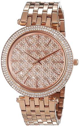 Michael Kors Reloj Analógico para Mujer de Cuarzo con Correa en Acero Inoxidable MK3399: Michael Kors: Amazon.es: Relojes