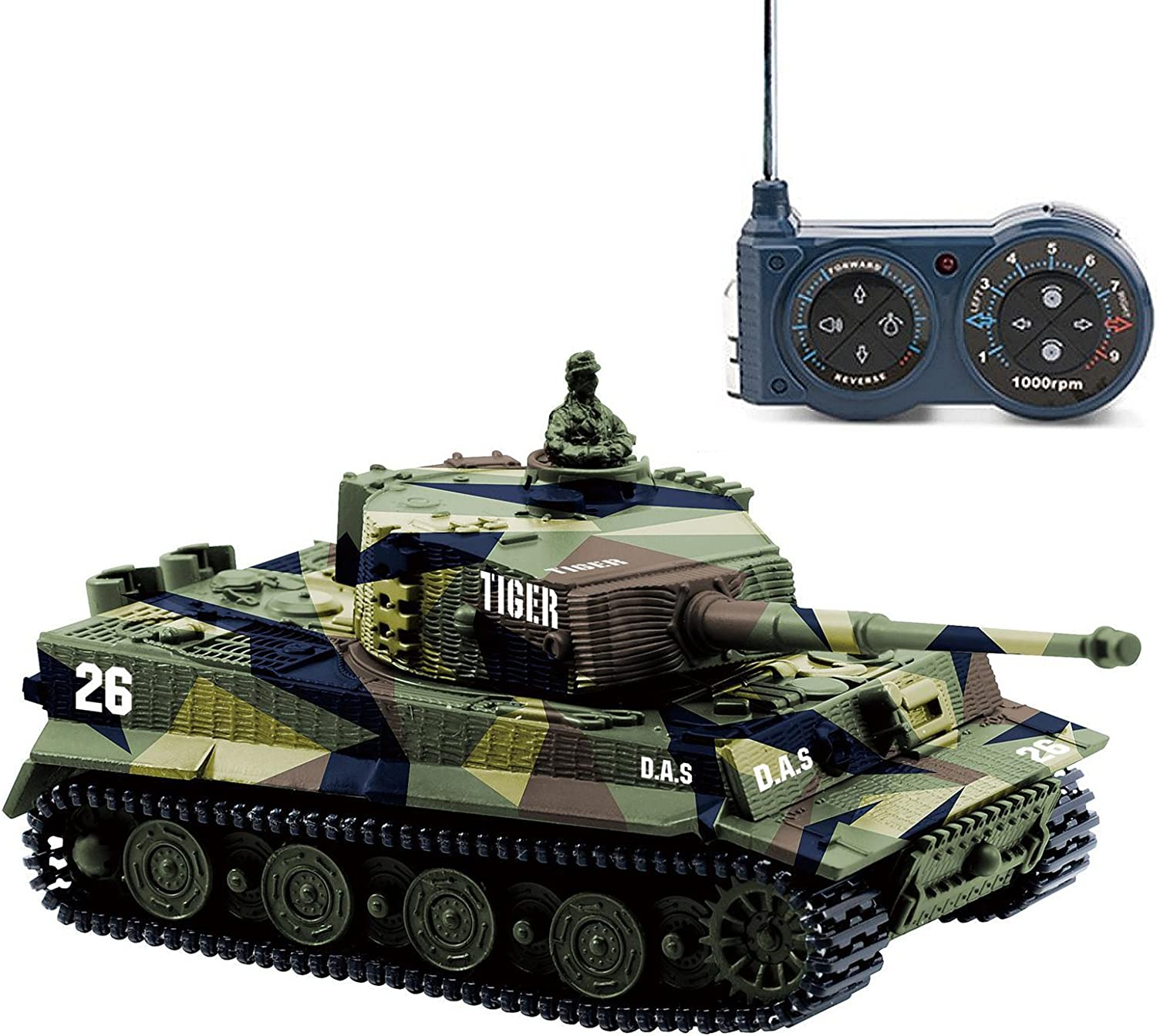 Top 10 Best Remote Control Tanks Battle (2020 Reviews & Buying Guide) 3