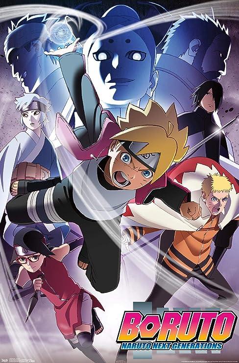 Trends International Boruto: Naruto Next Generations - Key Art Wall Poster, 22.375