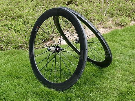 Full Carbon Ud mate bicicleta de carretera Tubular wheel rim 60 mm ...
