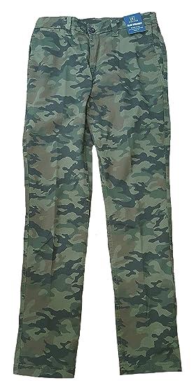 84754c899589f George Camo Camouflage Slim Straight Stretch Casual Chino Pant - 29 X 30