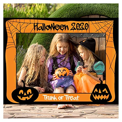 Halloween 2020 Poster Custom Amazon.com: Large Custom Halloween Photo Booth Frame  Sizes 36x24