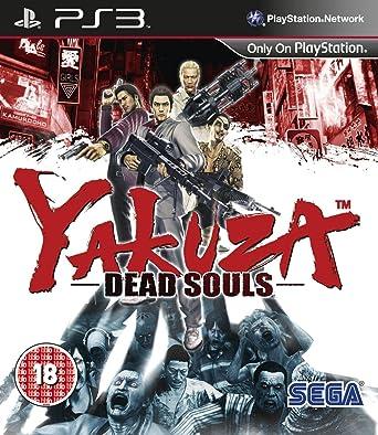 Yakuza 5 Dead Souls PS-3 UK multi: Amazon co uk: PC & Video