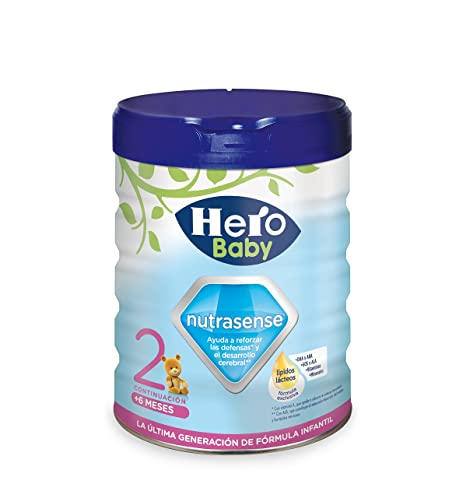 Hero Baby Leche Hbb Nutrasense, Leche Infantil 2, de 6 a 12 Meses -
