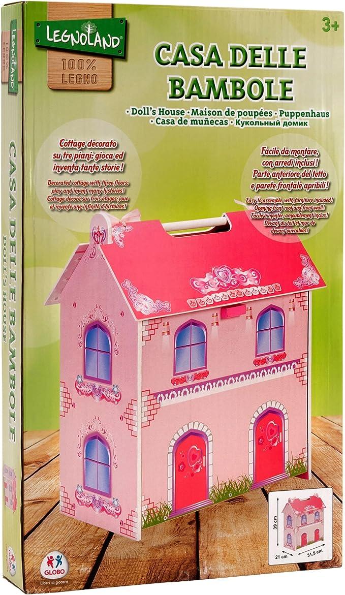 amazon globo casa delle bambole