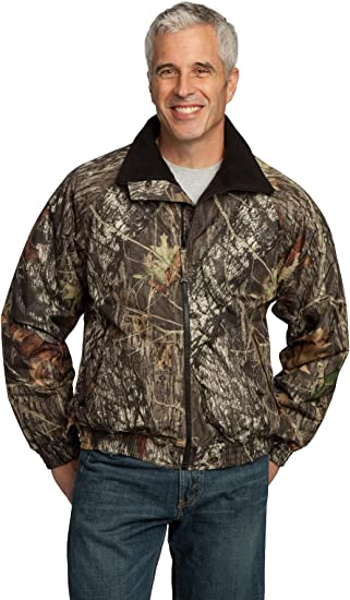 Port Authority Mossy Oak Challenger Jacket Mossy Oak New Break-Up//Black XXX-Large
