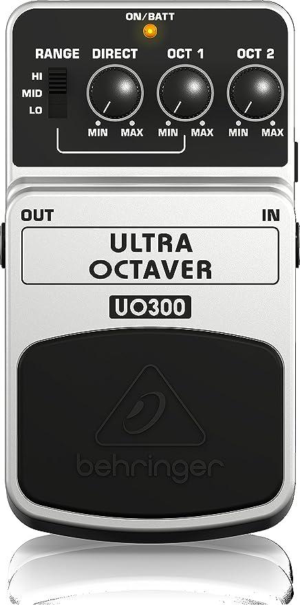 Behringer UO300 4033653052207 - Pedal octavador para guitarra ...