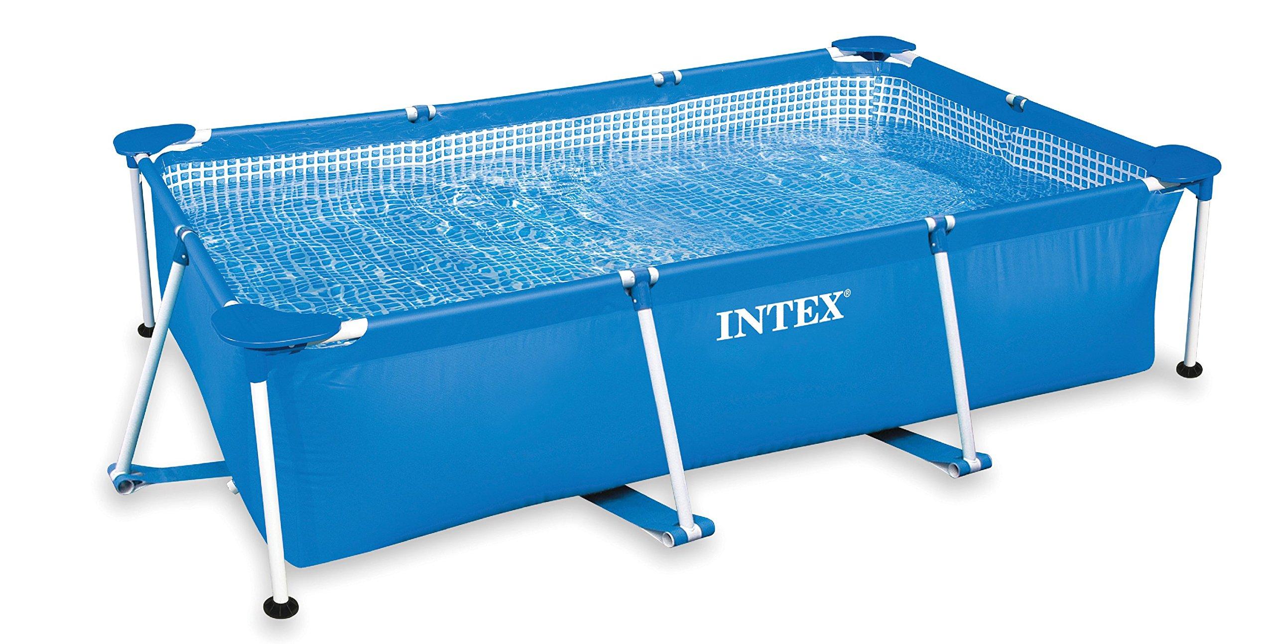 Intex 86'' x 59'' x 23'' Rectangular Frame Above Ground Baby Splash Pool | 28270E