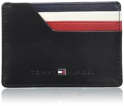 Tommy Hilfiger - Icons Cc Holder, Monederos Hombre, Black ...