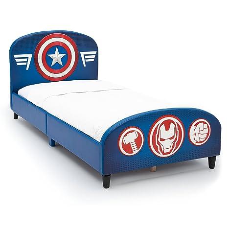 Amazon.com: Delta Children Upholstered Twin Bed, Marvel Avengers: Baby