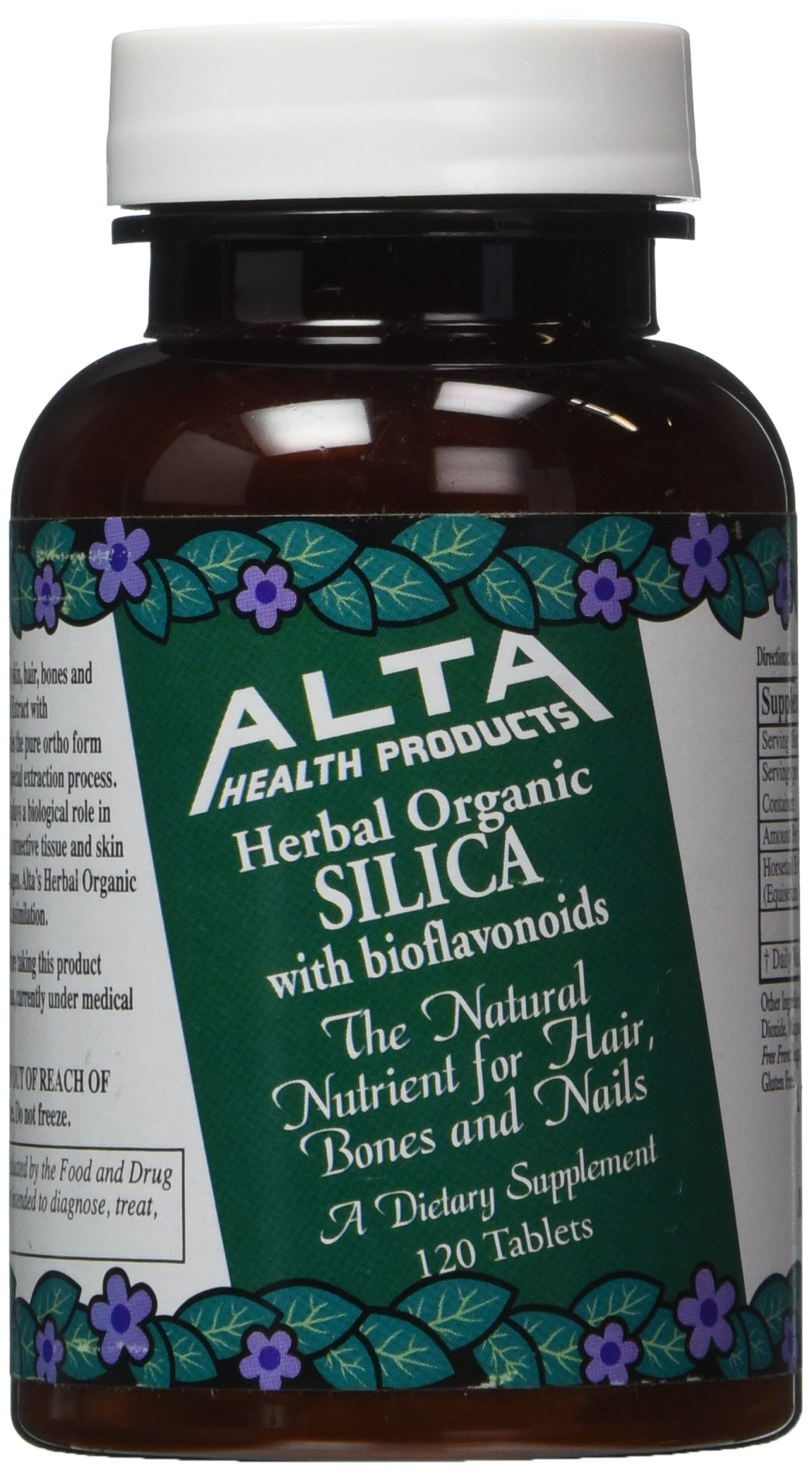Amazon.com: Alta Health Products - Silica With Bioflavonoids, 500 mg, 120 tablets: Health & Personal Care