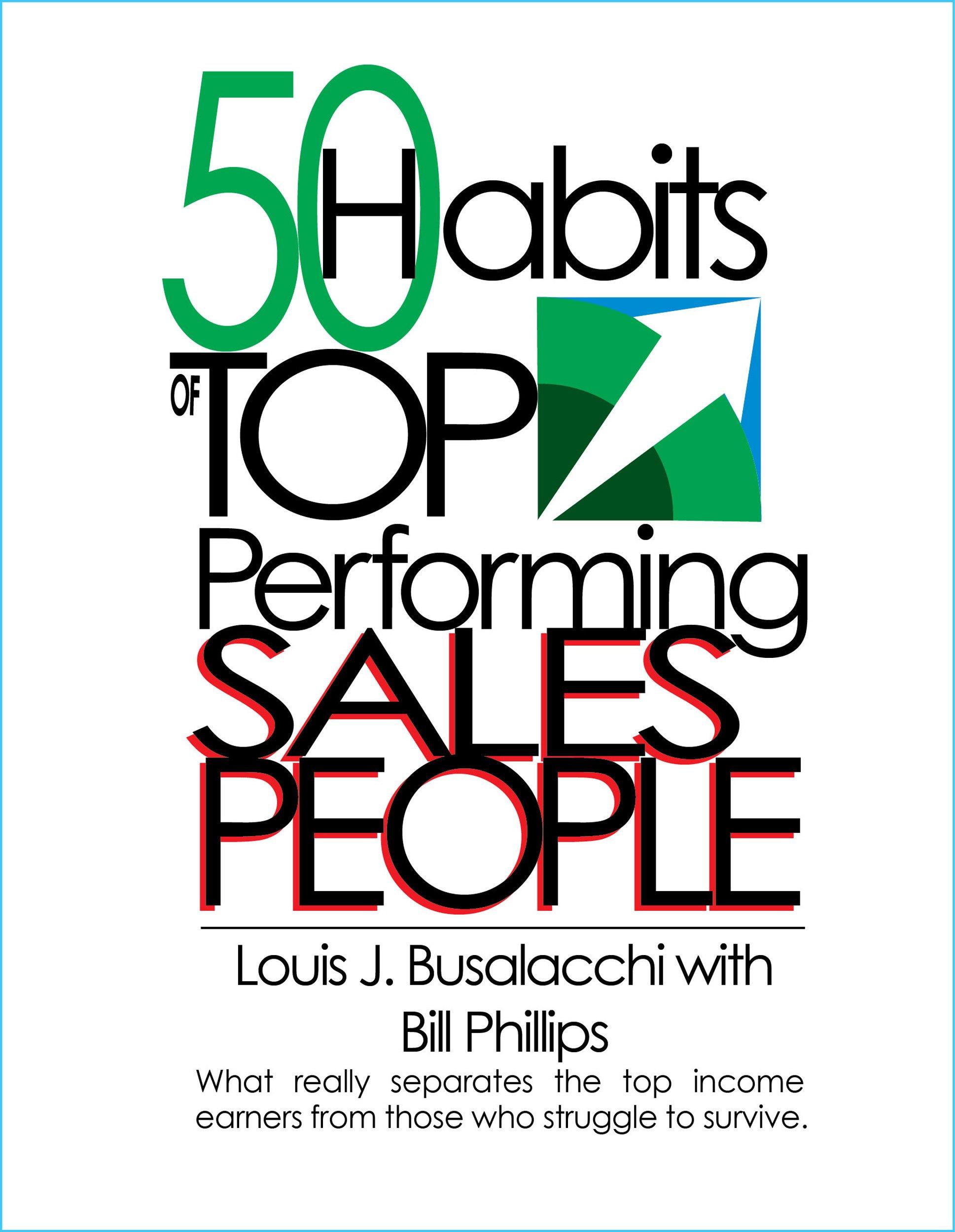 Read Online 50 Habits of Top Performing Sales People ebook