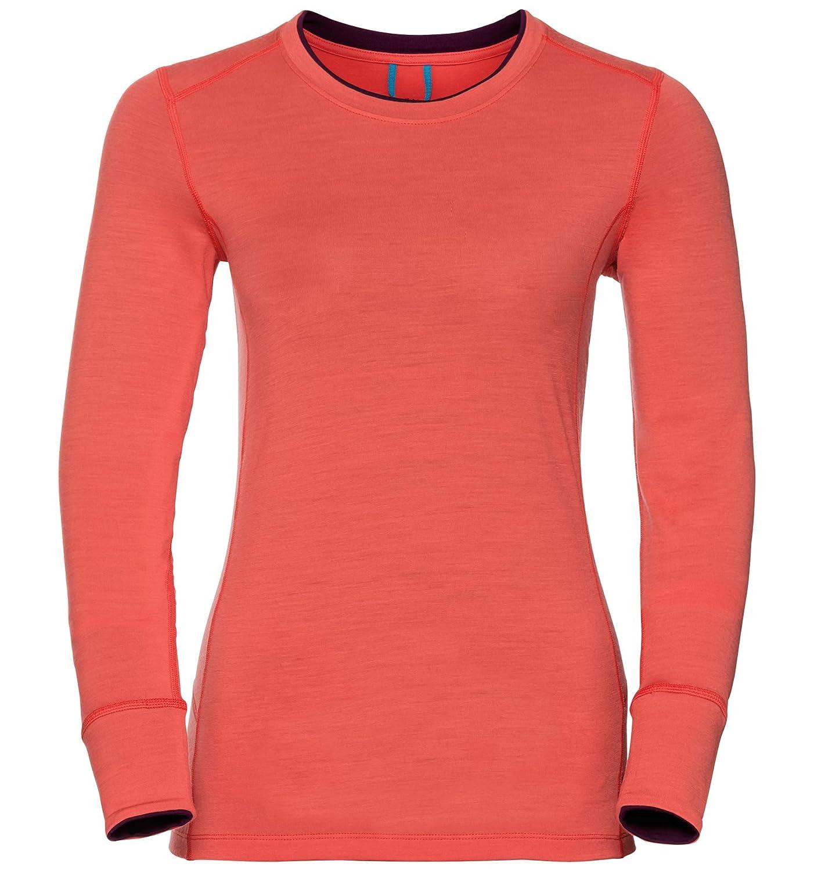 ODLO Women's Natural 100 Merino Warm Baselayer Shirt Top 110411