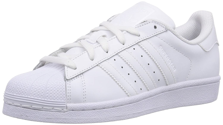 Adidas Superstar Foundation, Zapatillas Unisex Infantil 36 2/3 EU|Blanco (Ftwr White/Ftwr White/Ftwr White)
