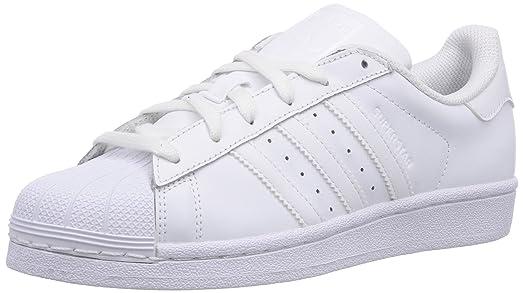 adidas Superstar Foundation, Unisex Kids\u0027 Trainers, White (Ftwr White/Ftwr  White