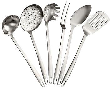 Kochbesteck  Amazon.de: Stanley Rogers Küchenhelfer-Set, Kochbesteck aus ...