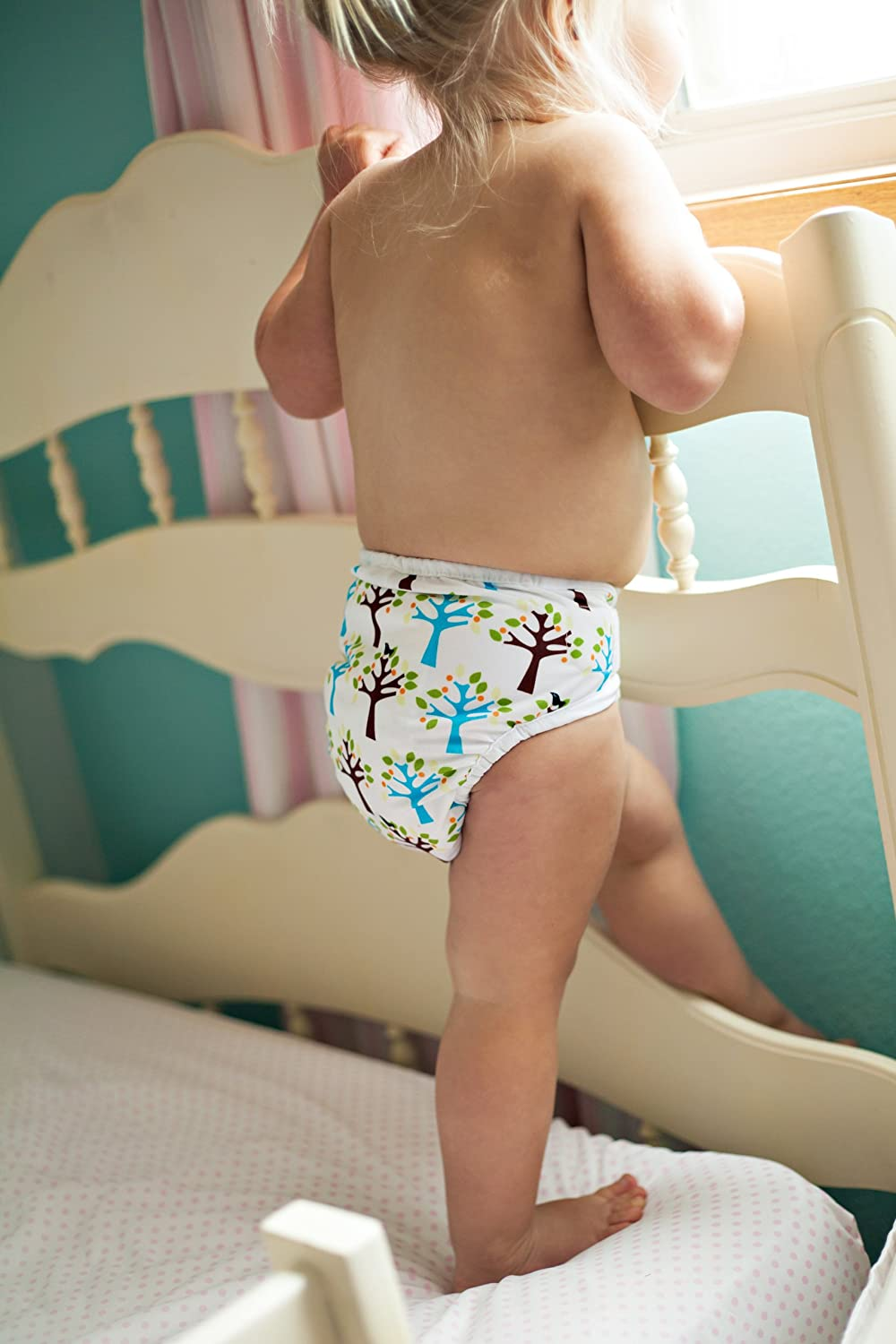 Happy Camper Thirsties Snap One Size Pocket Diaper