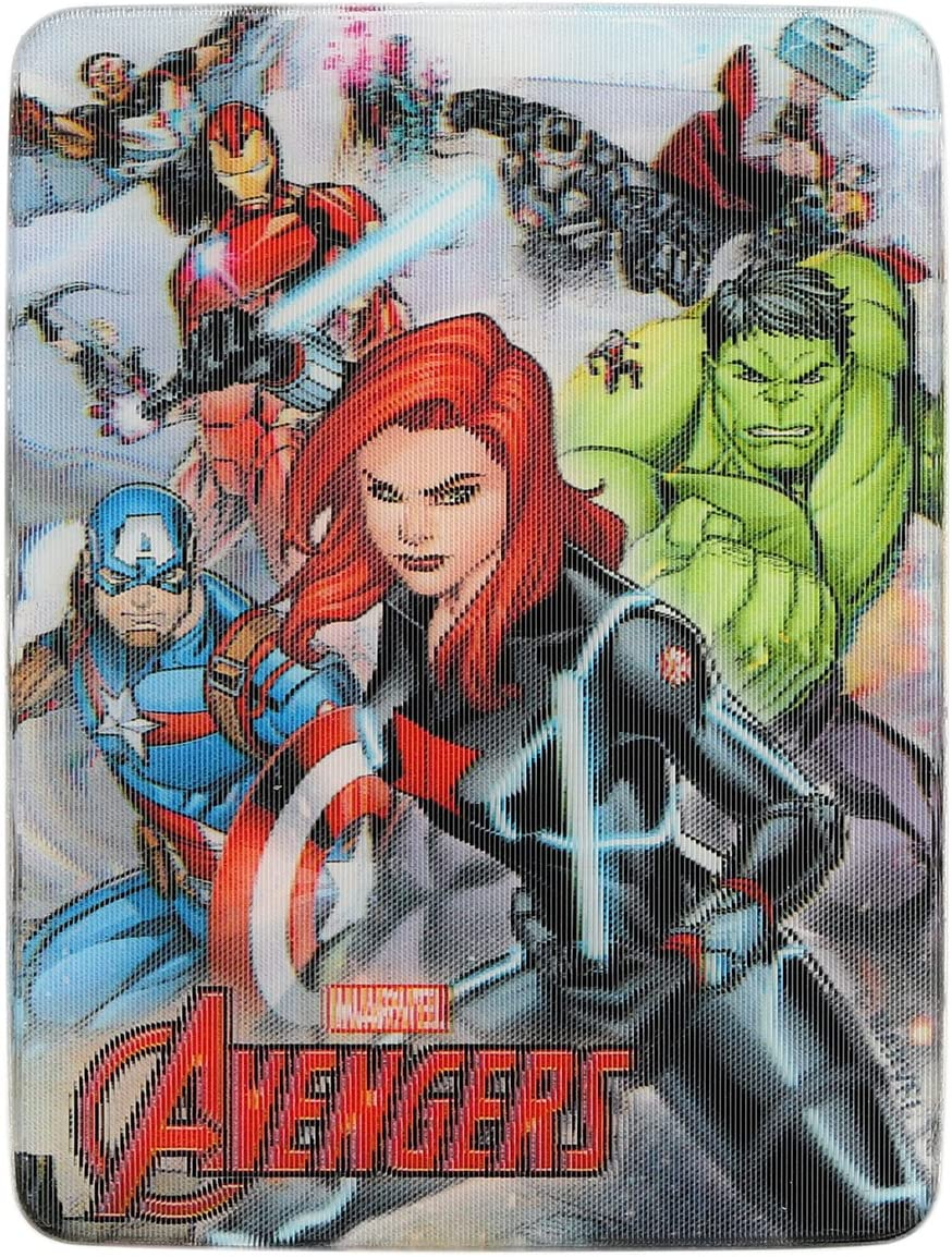 Open Road Brands Marvel Avengers Embossed Metal Magnet Art Sign - an Officially Licensed Product Great Addition to Add What You Love to Your Home/Garage Decor