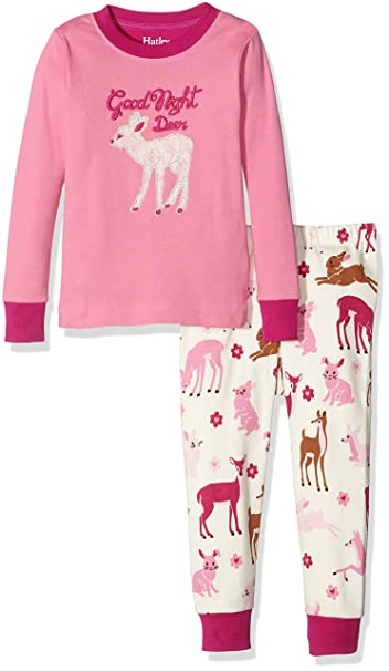 Hatley Pj (App) -Deer & Bunnies-Good Night, Pijama para Niños