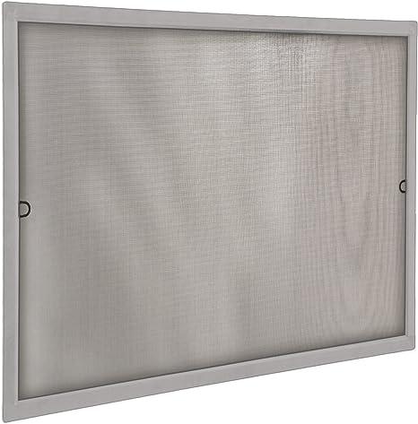 JAROLIFT Insektenschutz Spannrahmen SlimLine f/ür Fenster 130 x 150cm in braun