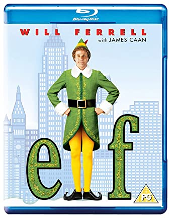 Amazon.com: Elf [Blu-ray] [2003]: Will Ferrell, James Caan, Bob Newhart,  Edward Asner, Mary Steenburgen, Zooey Deschanel, Daniel Tay, Faizon Love,  Peter Dinklage, Amy Sedaris, Jon Favreau: Movies & TV