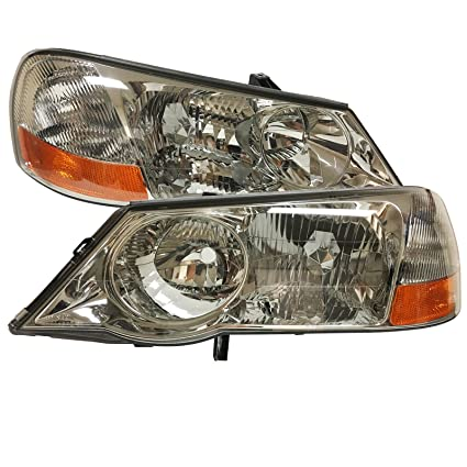 Amazoncom Headlights Depot Replacement For Acura TL Headlight OE - Acura tl headlight bulb