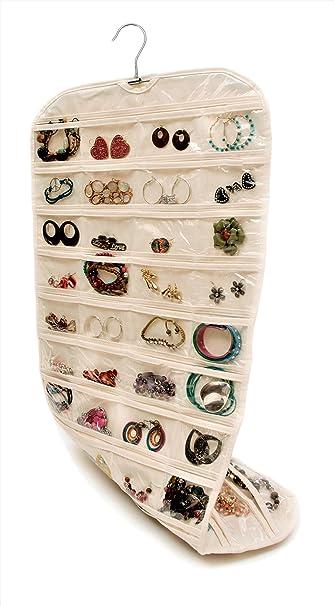 Amazoncom Closet Complete Premium Quality CANVAS Hanging Jewelry