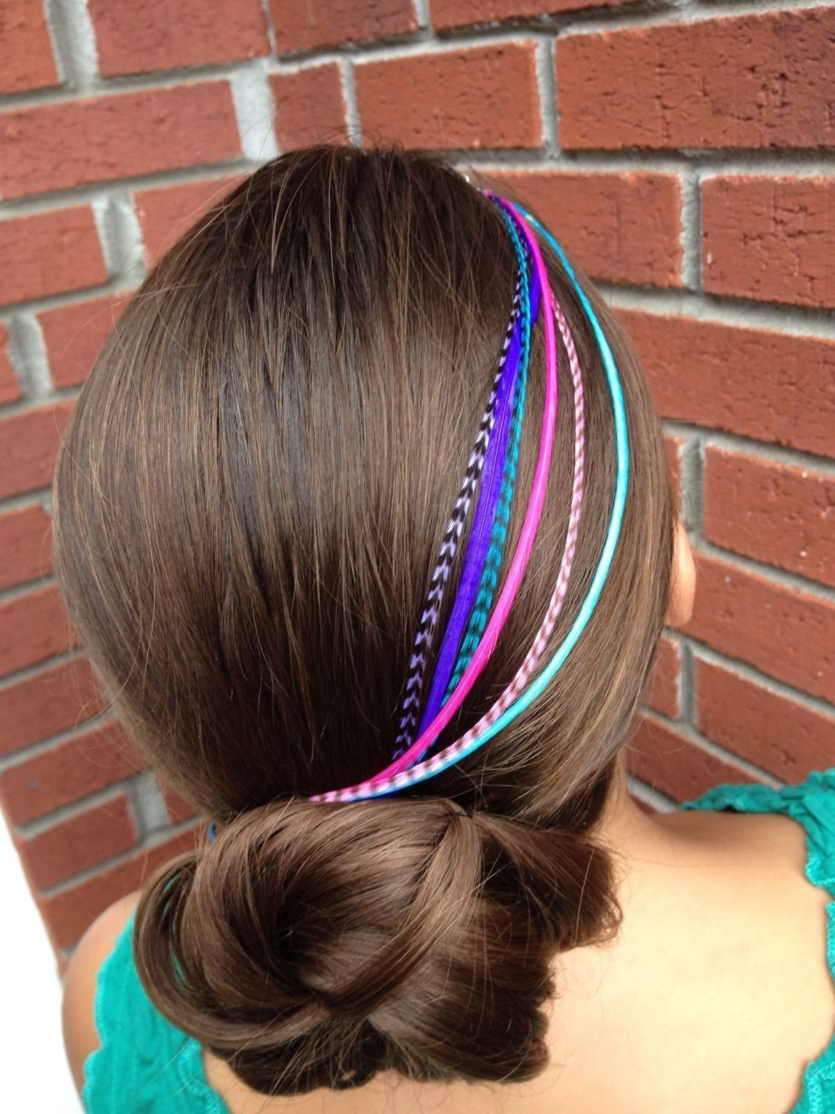 Feather Hair Extensions, 100% Real Rooster Feathers, Long Pink, Purple, Blue Colors, 20 Feathers with Bonus FREE Beads and Loop Tool Kit by Feather Lily (Image #7)