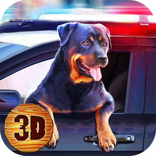 Police Rottweiler Dog Simulator: Clan of Dogs Lovely Pets | Dog Adventure Paws Animal Dash Breeding Game