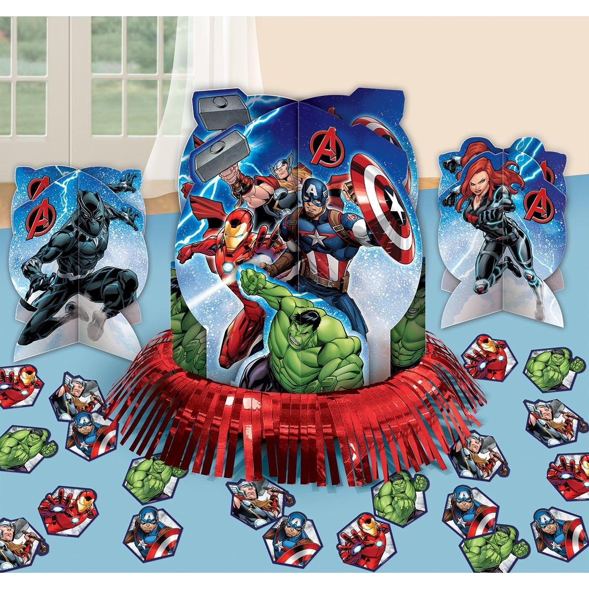 Amscan Epic Avengers Table Decorating Kit