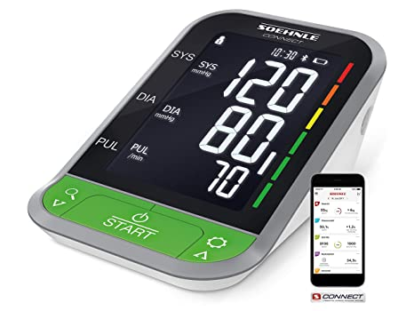 Soehnle Tensiómetro de brazo digital Systo Monitor Connect ...