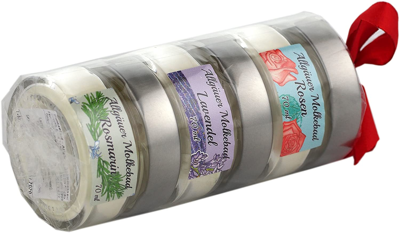 Allgäuer Molkebad Geschenkrolle - Rose Lavendel Rosmarin - Perfektes ...