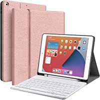 "JUQITECH iPad 10.2 8th 7th Generation Keyboard Case - Smart Case with Wireless Keyboard iPad 10.2"" 8th Gen 2020 7th 2019…"