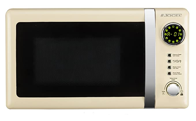 Jocel JMO001351 Microondas beige, 700 W, Aluminio: Amazon.es ...