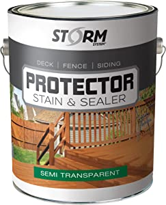 Storm Protector Penetrating Sealer & Stain
