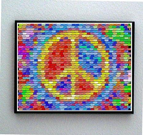 Amazon.com: Símbolo de la paz enmarcado Pez Candy Limited ...