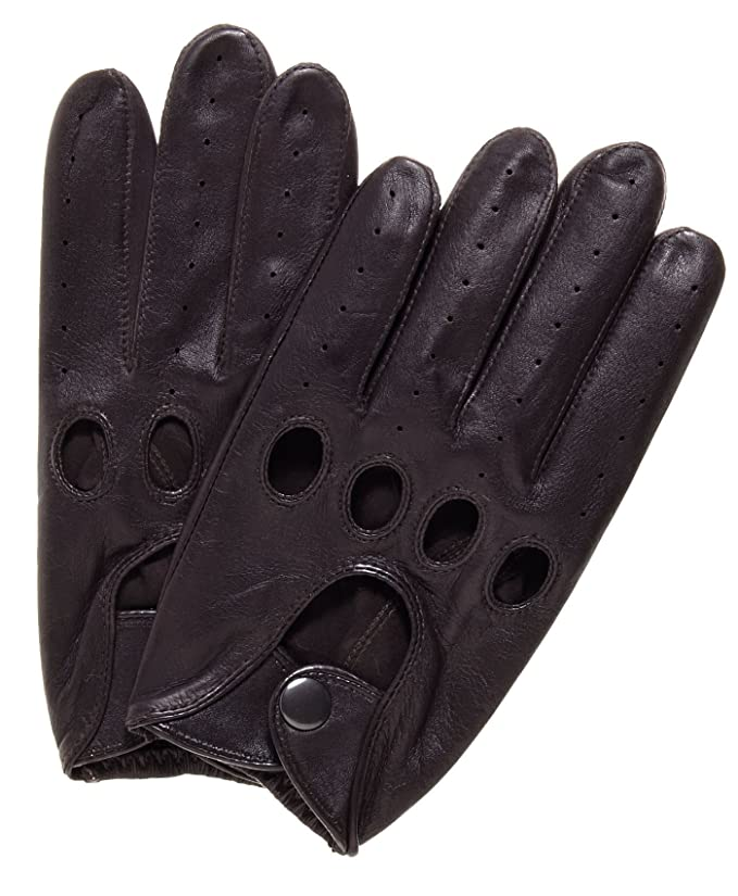 Pratt and Hart Traditional Leather Driving Gloves