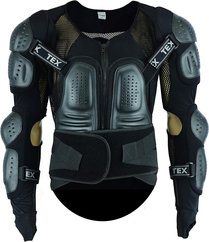 All Sizes Motorbike Motocross Body Armour MX Moto Biker Enduro CE Protection Spine Guard