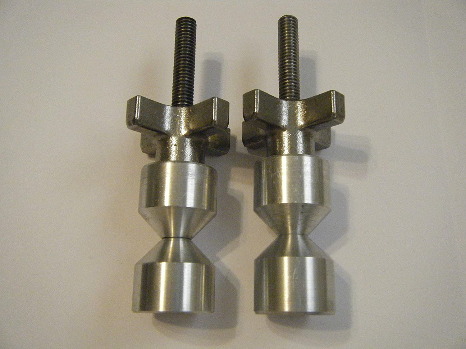 "1 1//2/""-Two hole pin-6061 Aluminium FOUR SETS 3//8-16"
