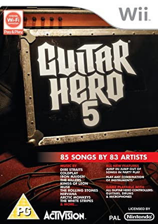 guitar hero 6 for wii