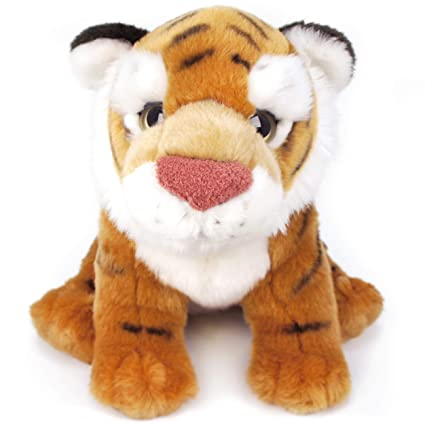 Amazon Com Viahart Theodore The Baby Malayan Tiger 13 Inch Large
