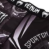 Venum Gladiator 3.0 Spats - Black/White - L, Large