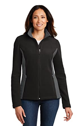 938def6531fa Port Authority Ladies Colorblock Value Fleece Jacket. L216 at Amazon ...
