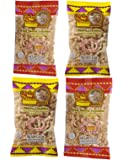 Turkey Creek - America's Best Fried Pork Products, offers a 4-Bag Combo Pack of its top Pork Cracklins(2-Regular & 2-Hot). These Pork Cracklin Chips (Chicharrones) are a packed in full 2.0 oz bags.
