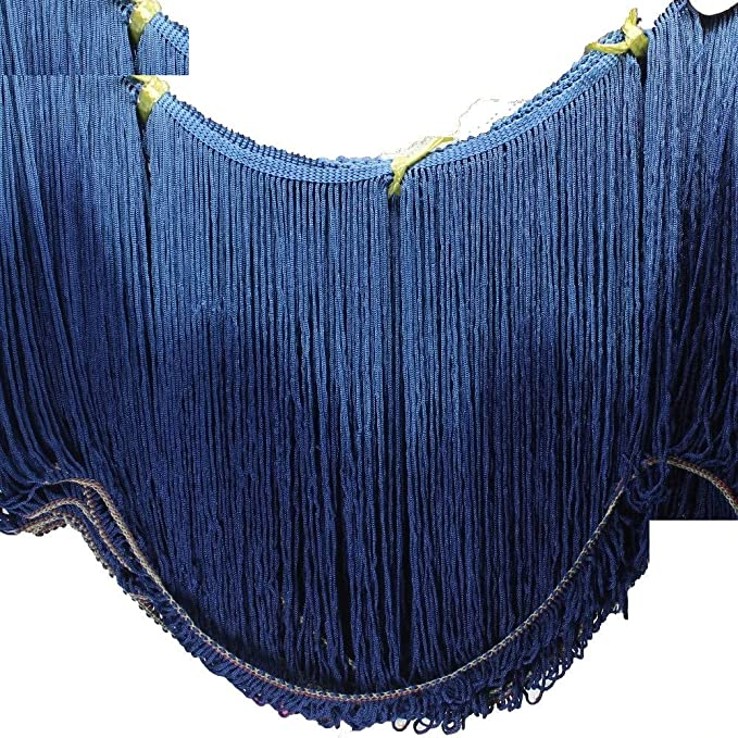 DIY Tassel Fringe Trims Latin for Dress Dance Skirt Embellishments Fashion Craft