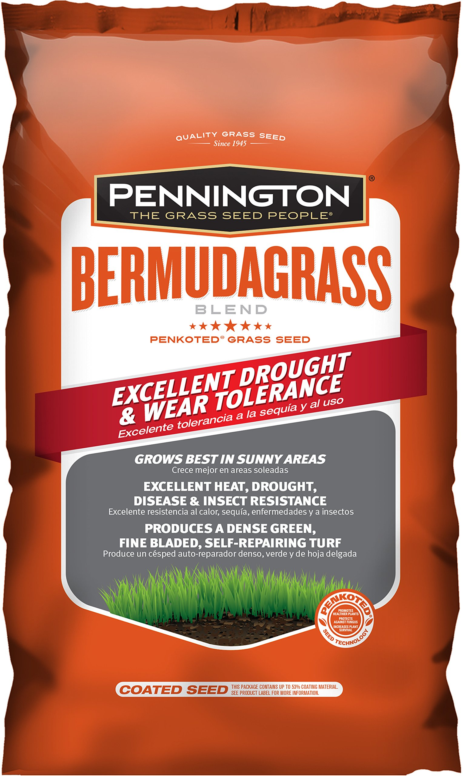 CENTRAL GARDEN AND PET Pennington Premium Blend Bermuda Grass Seed - 5 lb