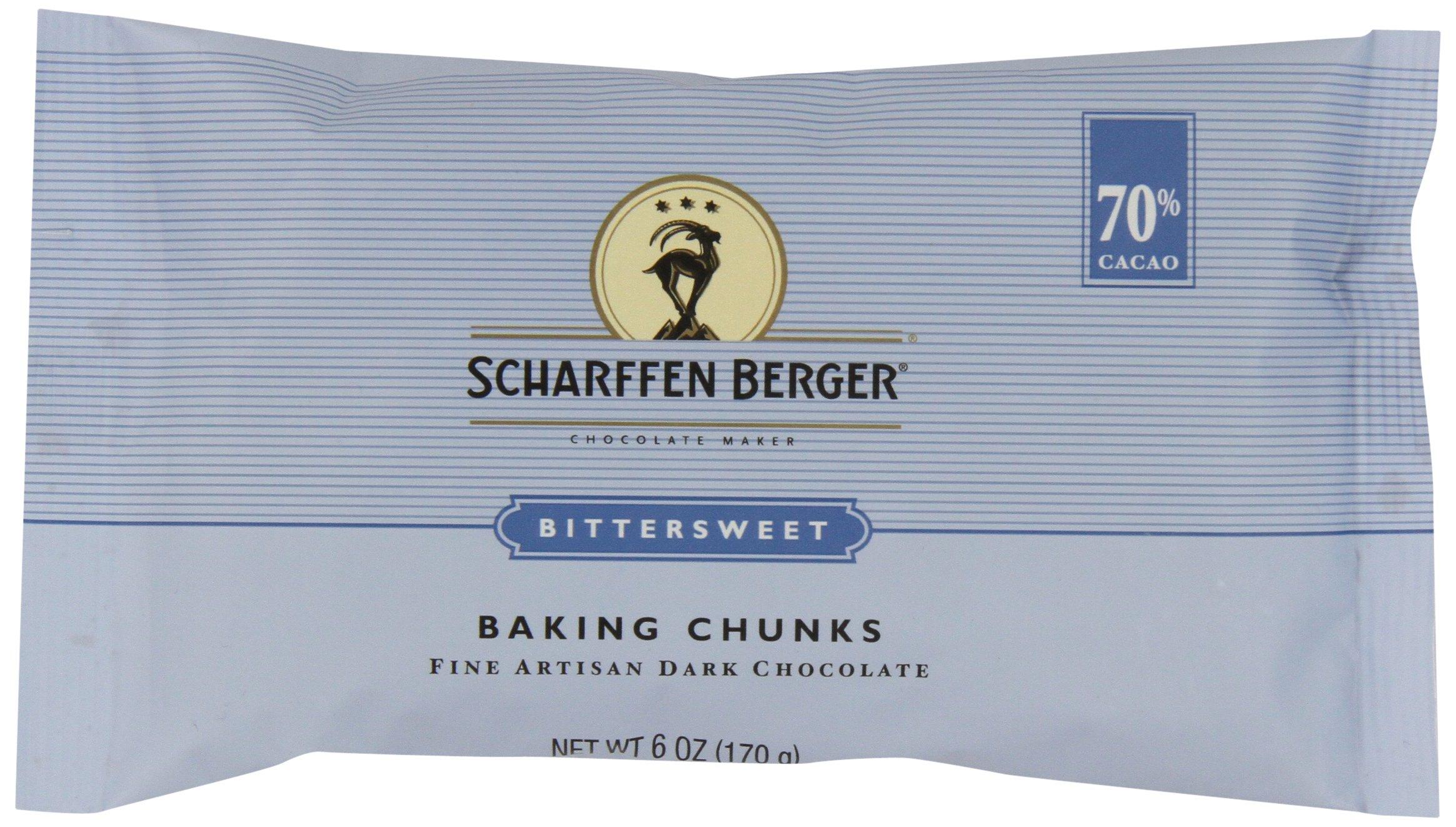 Amazon.com : SCHARFEEN BERGER Petite Baking Chocolate Squares ...