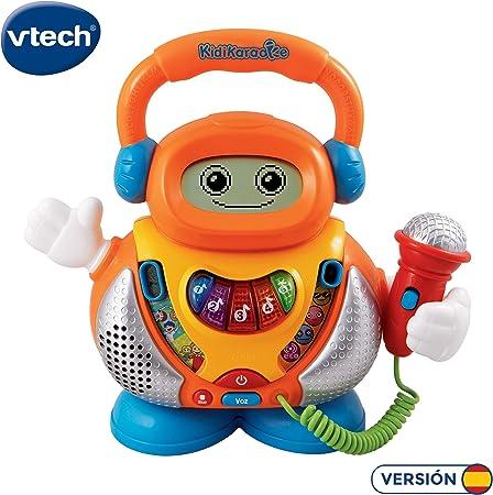 Amazon.es: VTech - Kidikaraoke, Karaoke interactivo para aprender ...