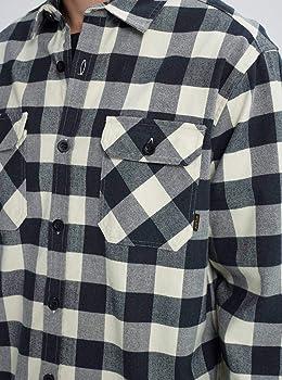 Burton Brighton Flannel Camisa, Hombre, 14053109250, Canvas Heather Buffalo, Medium: Amazon.es: Ropa y accesorios